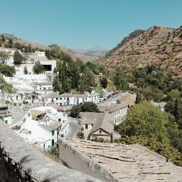 spain andalucia granada landscape mountain