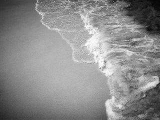 sea beach blackandwhite minimalism minimal freetoedit