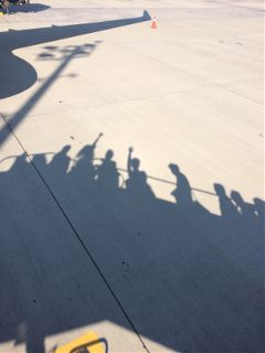 freetoedit airplane travel shadow people