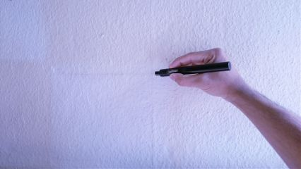 pov hand pen wallpaper minimal freetoedit