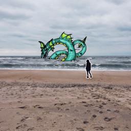 freetoedit remix remixed sea monster