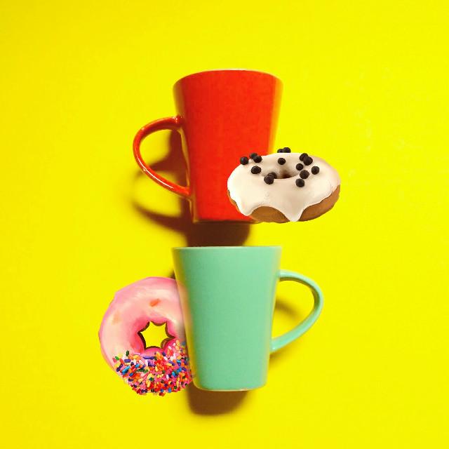 Mmmm  #FreeToEdit  #remix  #donuts
