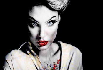 freetoedit woman portrait remix tattoo
