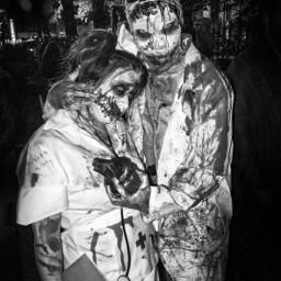 halloween photography streetphotography blackandwhite freetoedit