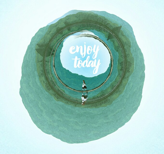 #waptinyplanet #quote  #enjoy #green #forest #alone #walking #finding  #tinyplanet