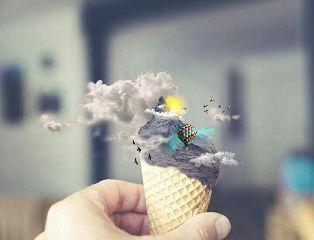 freetoedit clouds sunshine imagination edit