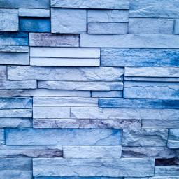 freetoedit blue wall bricks building
