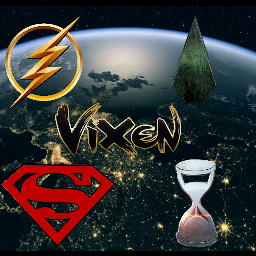 theflash supergirl arrowseason5 vixen legendsoftomorrow freetoedit